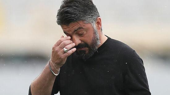 Gattuso in Florenz schon wieder raus