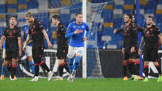 Sociedad rettet sich in Napoli last minute