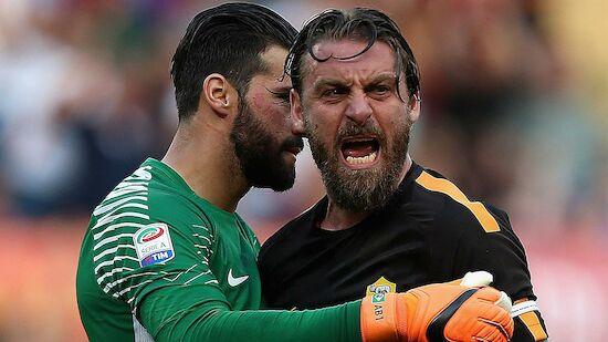 Wirbel bei AS Roma über De-Rossi-Abschied
