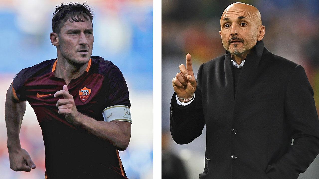 Spalletti wehrt sich gegen Vorwürfe von Totti - Fussball - International -  Italien