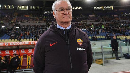 Turublenter Roma-Sieg bei Ranieri-Debüt