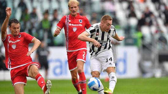Fünf Tore bei Juventus-Heimsieg über Sampdoria