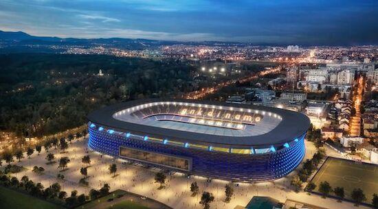 Dinamo Zagreb präsentiert Stadion-Pläne