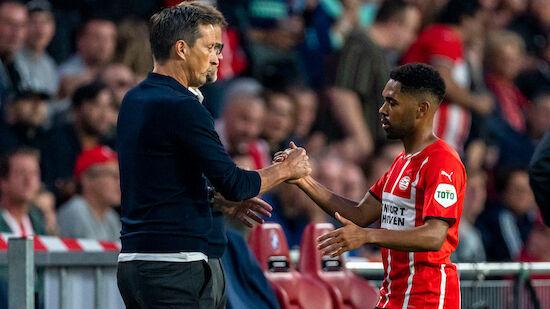 Mwene holt mit PSV holländischen Supercup