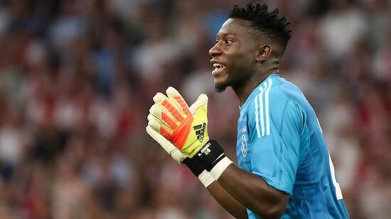 Dopingsperre für Ajax-Goalie Onana reduziert