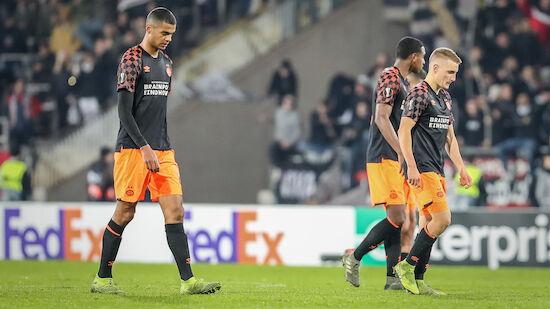 PSV Eindhoven rutscht tiefer in die Krise