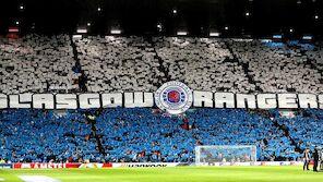 12.000 Rangers-Fans stürmen Wien