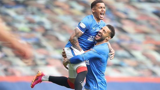 Glasgow Rangers beenden Saison ungeschlagen