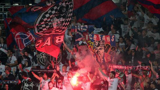 4.000 Basel-Fans protestieren vor Stadion