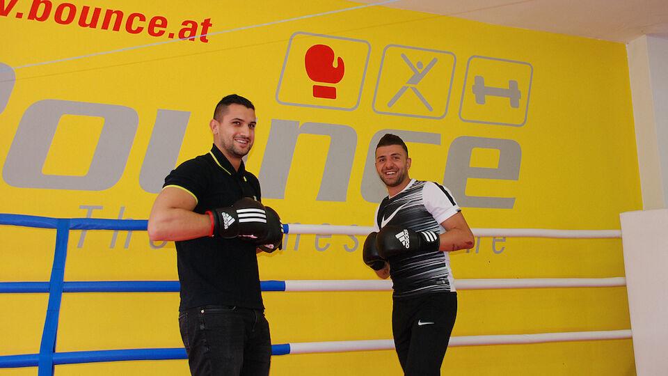 Ümit Korkmaz im Training mit Marcos Nader