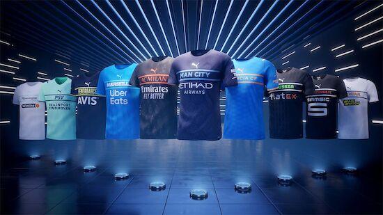 Revolutionäres Trikot-Design für Top-Klubs