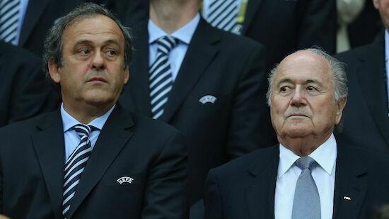 FIFA verklagt Blatter und Platini