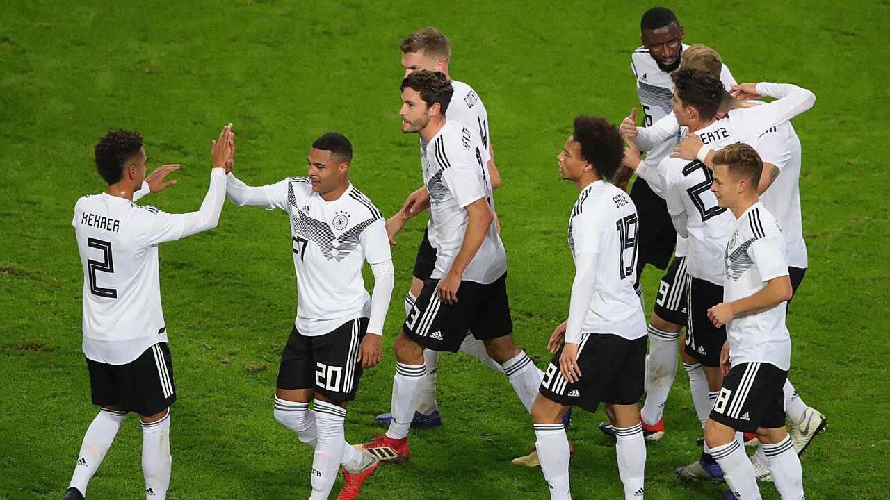 Deutschland Russland Fußball