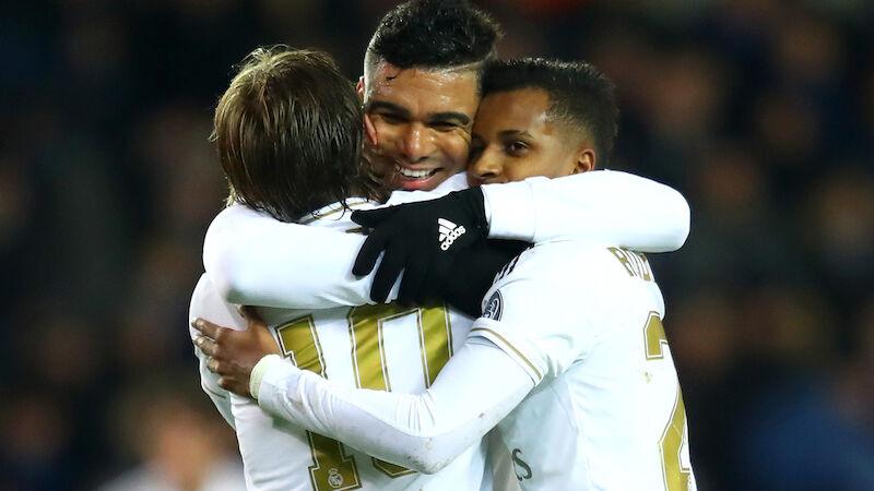 Real triumphiert im Top-Spiel dank Casemiro