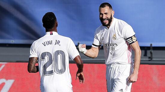 Reals Benzema fit für Madrid-Derby gegen Atletico