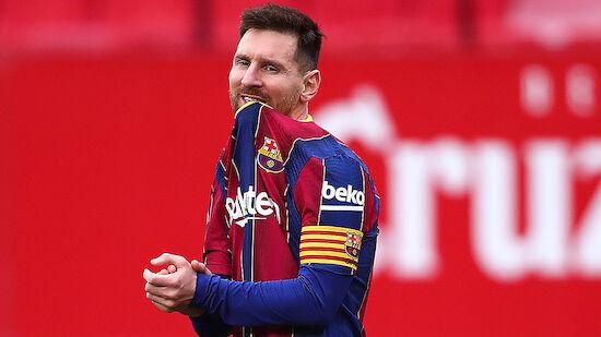 Spekulationen um Messi-Zukunft