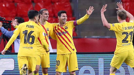 FC Barcelona gewinnt Copa-del-Rey-Finale