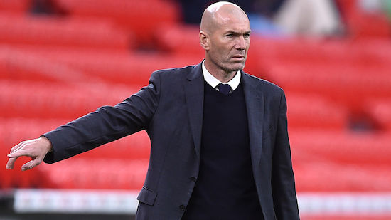 Zidane exit fixed in the riyal?