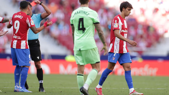 Atletico Madrid rettet zu zehnt einen Punkt