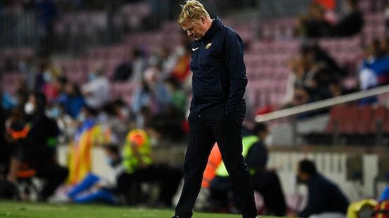 Denkwürdige Pressekonferenz von Barca-Coach Koeman