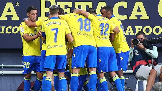 Cadiz holt ersten Saisonsieg gegen Celta Vigo