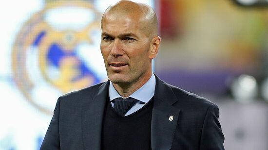 Zidane tritt als Trainer von Real Madrid zurück
