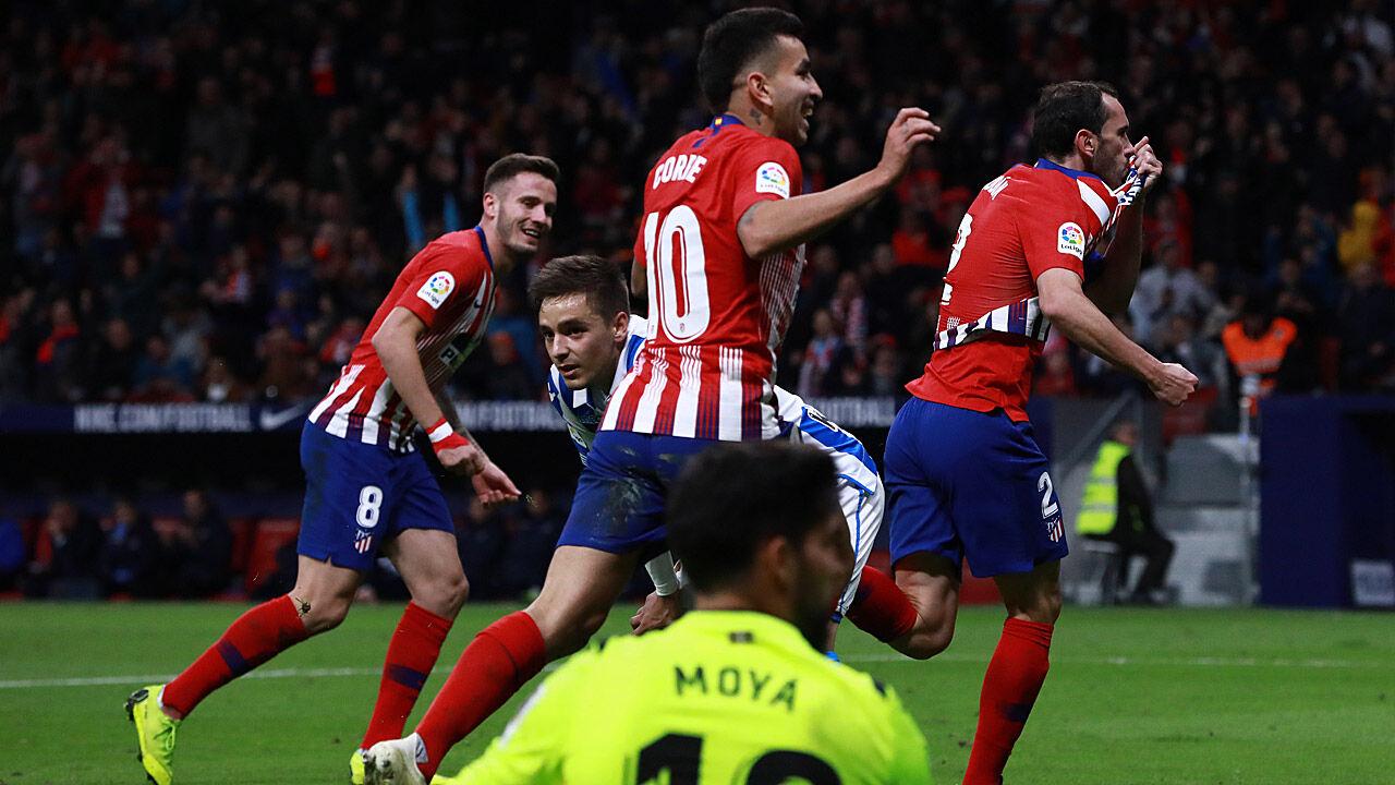Fussball Atletico Madrid Heute
