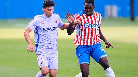 Yusuf Demir offenbar fix im Barcelona-Profikader