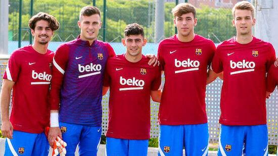 Demir absolviert erstes Barcelona-Training