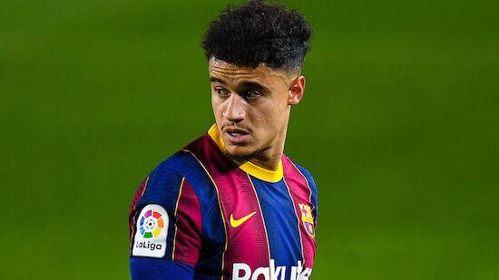 Barca will Coutinho loswerden! Abnehmer vorhanden