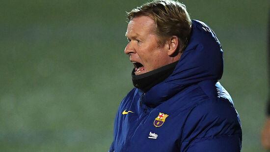 Sperre für Barca-Coach Ronald Koeman