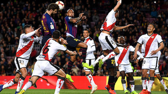 Mühevoller Barcelona-Sieg gegen Vallecano