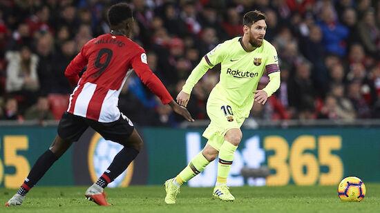 Nächstes Remis für Barcelona in Bilbao