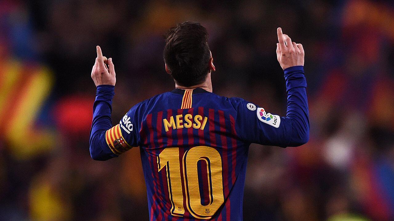 Messi Jubel