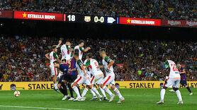 Messi-Genistreich bei Barca-Sieg