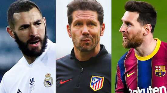 Atletico, Real oder Barca? Spannung pur in La Liga