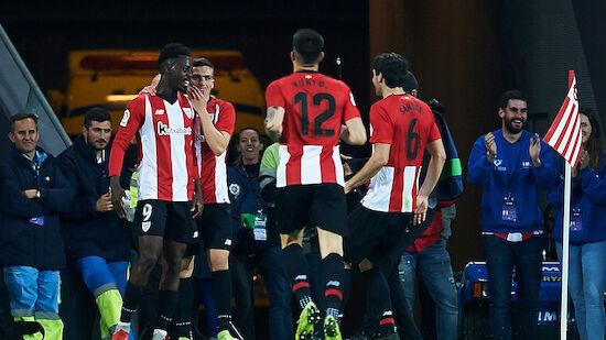Athletic Bilbao auf Europacup-Kurs