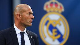 Real vor Verlängerung mit Trainer Zidane