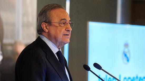 Real-Boss Perez bedauert UEFA-Drohungen