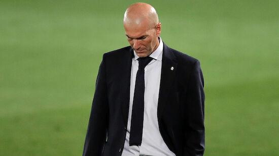 Hat sich Zidane schon bei Spielern verabschiedet?