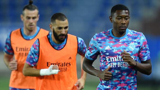 Alaba fit für Reals CL-Auftakt gegen Inter