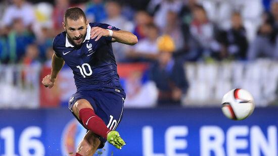 EM: Deschamps beruft Benzema in Frankreich-Kader
