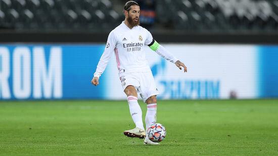 Nächste Zwangspause: Ramos droht Clasico-Ausfall