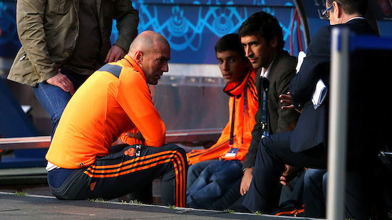 Folgt eine Real-Ikone auf Trainer Zidane?