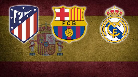 Clasico im Titelkampf! Wer wird La-Liga-Champ?