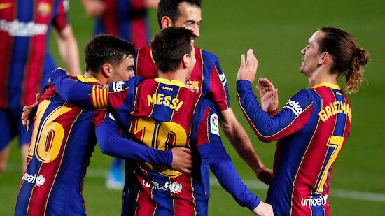 Barcelona rückt wieder auf Platz drei vor