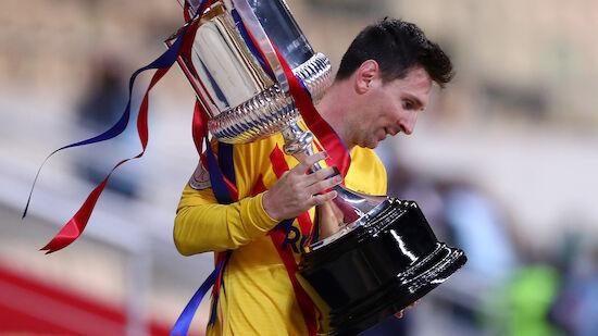 Nach Cupsieg hofft Barca auf Messi-Verbleib