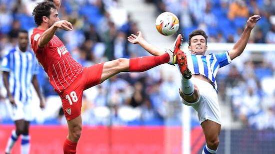 Sevilla spielt nur 0:0 gegen Sociedad