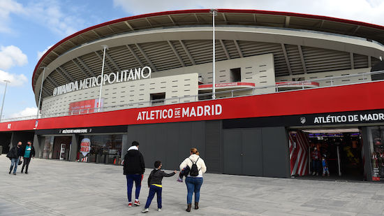 Real-Heimspiele wohl im Atletico-Stadion