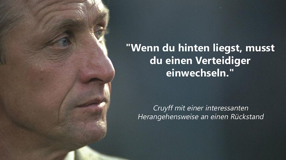 Johan Cruyff - die besten Sprüche der Legende
